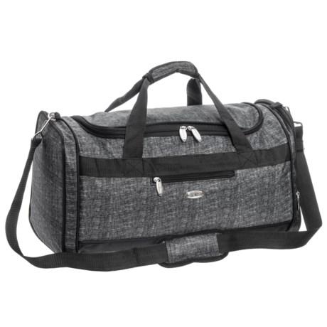 Travel Gear Triton 40L Duffel Bag in Tweed Heather