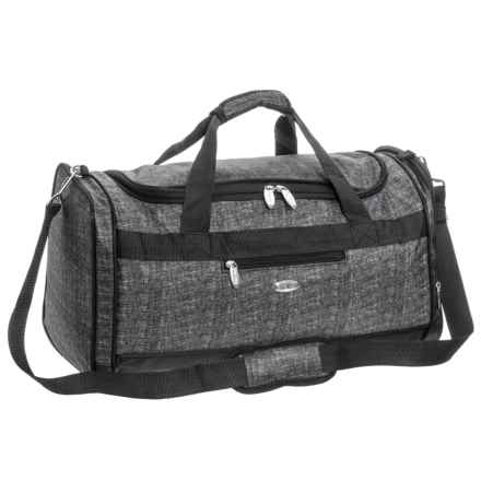 Travel Gear Triton Duffel Bag in Tweed Heather - Closeouts