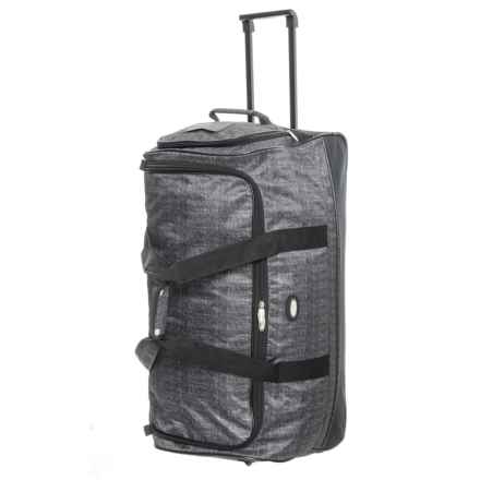 Travel Gear Triton Wheeled Duffel Bag in Tweed Heather - Closeouts