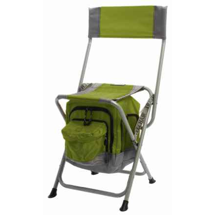 TravelChair Anywhere Folding Chair with Cooler in Green - Closeouts