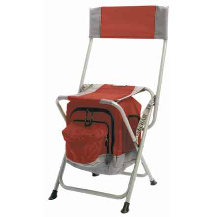 TravelChair Anywhere Folding Chair with Cooler in Red - Closeouts