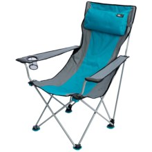 TravelChair Big Bubba Folding Chair in Blue/Grey - Closeouts