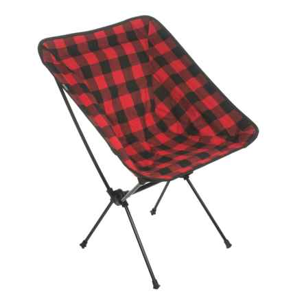 TravelChair C-Series Joey Camp Chair in Buffalo Plaid - Closeouts