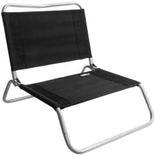 TravelChair Canvas Larry Chair in Black Grey - Closeouts