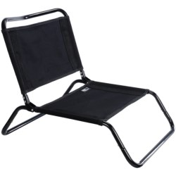 TravelChair Canvas Larry Chair in Black Grey