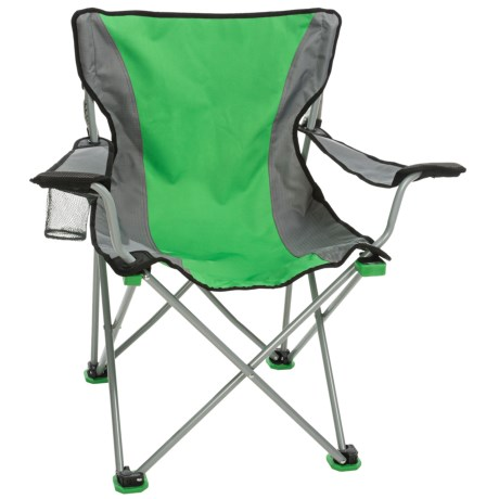 TravelChair Easy Rider Camp Chair in Green/Grey