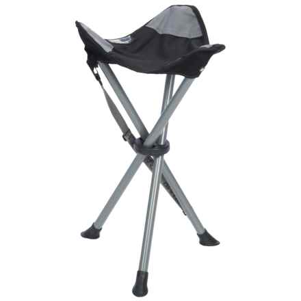 TravelChair Sidewinder Stool in Black - Closeouts