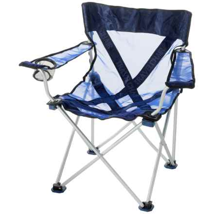 TravelChair Teddy Aluminum Camp Chair in Blue - Closeouts