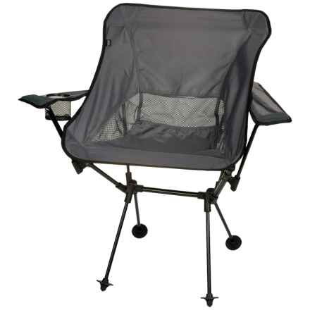 TravelChair Wallaby Camp Chair in Black - Closeouts