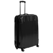 "Traveler's Choice Sedona Hard Case Spinner Suitcase - Expandable, 29"" in Black - Closeouts"
