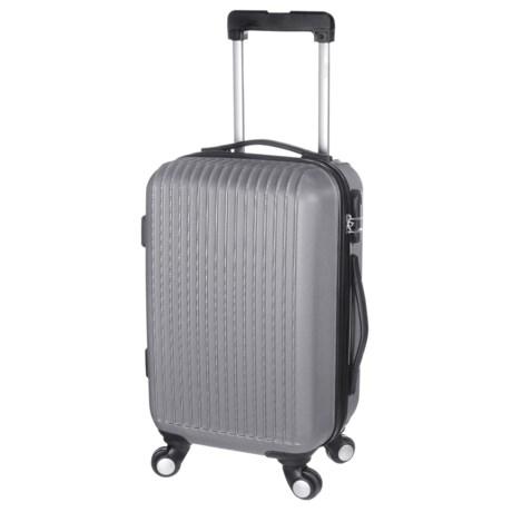 "Traveler's Choice 24"" Elite Spinner Suitcase - Hardside in Silver"