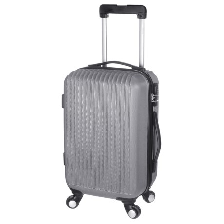 "Traveler's Choice 28"" Elite Spinner Suitcase - Hardside in Silver"