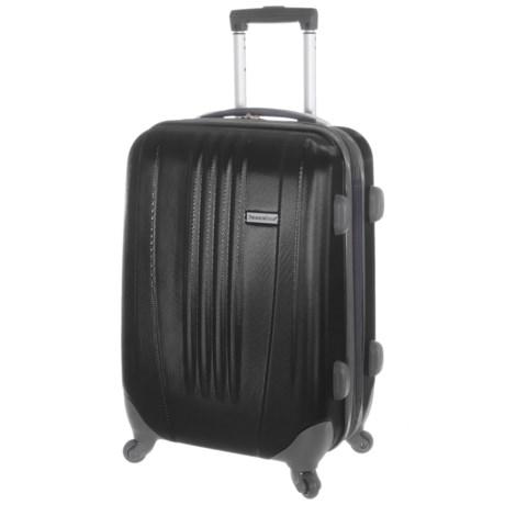 "Traveler's Choice 29"" Toronto Spinner Suitcase - Hardside, Expandable in Black"