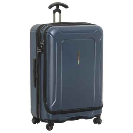 "Traveler's Choice Barcelona Spinner Suitcase with Packing Cubes - Hardside, 30"" in Blue - Closeouts"