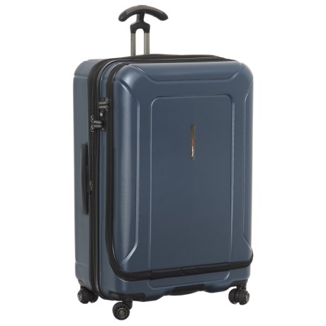"""Traveler's Choice Barcelona Spinner Suitcase with Packing Cubes - Hardside, 30"""" in Blue"""