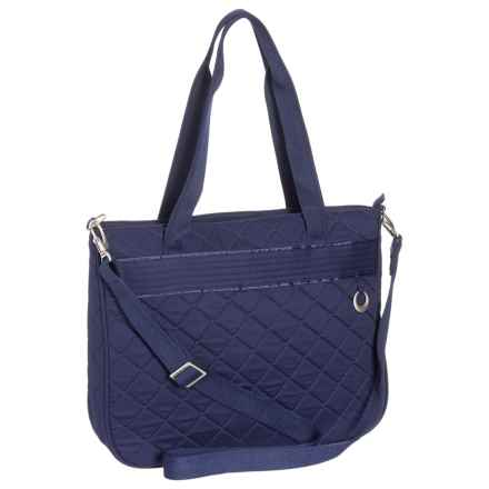Travelon Anti-Theft Boho Tote Bag (For Women) in Navy - Closeouts