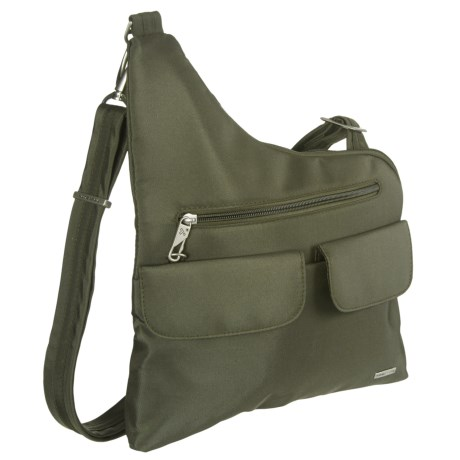 Travelon Anti-Theft Classic Crossbody Bag in Olive