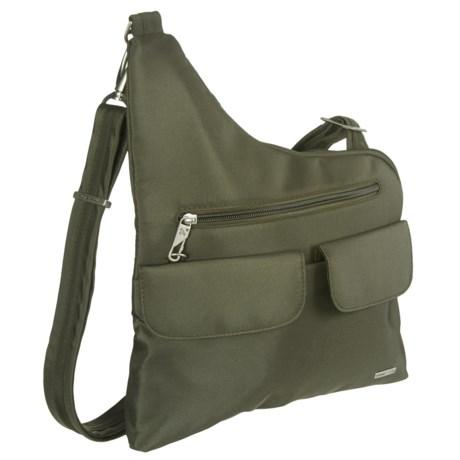 Travelon Anti-Theft Classic Crossbody Bag in Olive