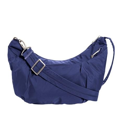 Travelon Anti-Theft Classic Light Sling-Style Hobo Bag - RFID (For Women 872adcf69dca7