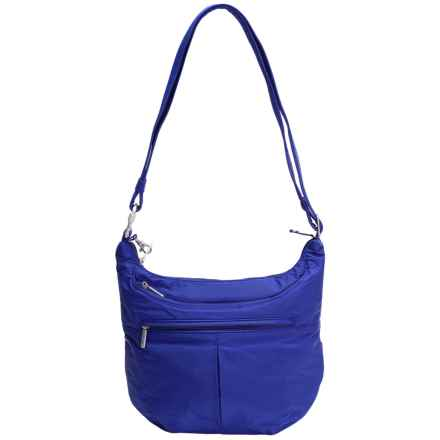 Travelon Anti-Theft Classic Light Slouch Hobo (For Women) in Dark Cobalt - Closeouts