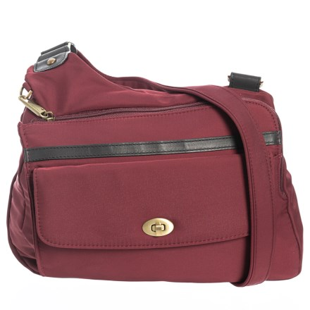 Travelon Anti-Theft LTD Crossbody Bag (For Women) in Wine - Closeouts 5bed62de846bf