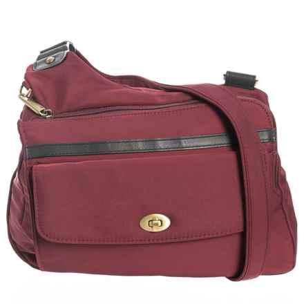 Travelon Anti-Theft LTD Crossbody Bag (For Women) in Wine - Closeouts