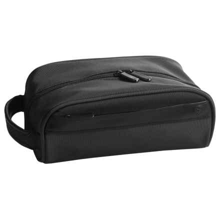 Travelon Classic Plus Toiletry Bag - Top Zip in Black - Closeouts
