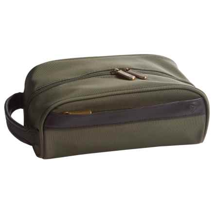 Travelon Classic Plus Toiletry Bag - Top Zip in Olive - Closeouts