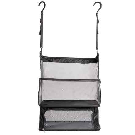 Travelon Deluxe Packable Shelves in Black - Closeouts