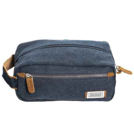 Travelon Heritage Collection Canvas Toiletry Kit (For Men) in Indigo - Closeouts