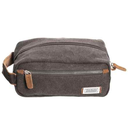 Travelon Heritage Collection Canvas Toiletry Kit (For Men) in Pewter - Closeouts