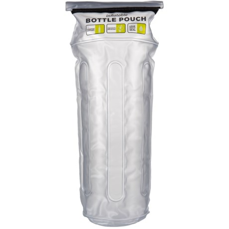 Travelon Inflatable Bottle Pouch in Clear