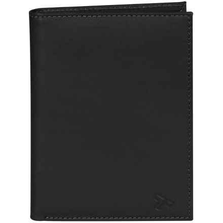 Travelon Leather Passport Wallet in Black - Closeouts