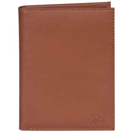 Travelon Leather Passport Wallet in Brown - Closeouts