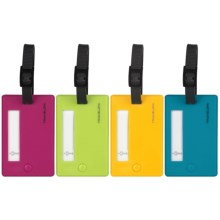 Travelon Luggage Tags - Set of 4 in See Photo - Closeouts