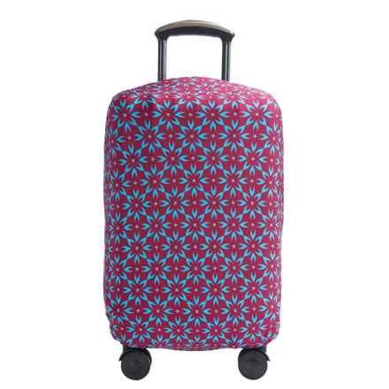 "Travelon Medium Luggage Cover - Fits 22-36"" Suitcases in Berry Floral - Closeouts"