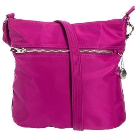 0acc8282b33e Travelon North South Anti-Theft Crossbody Bag (For Women) in Plumrose -  Closeouts