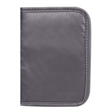 Travelon Safe ID Ripstop Passport Case in Off Black - Closeouts