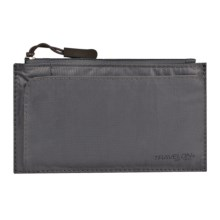 Travelon Safe ID Small Credit Card Wallet in Off Black - Closeouts