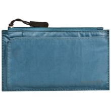 Travelon Safe ID Small Credit Card Wallet in Teal - Closeouts