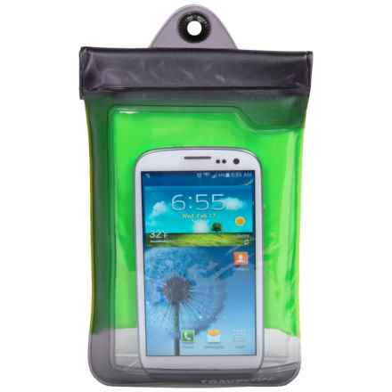 Travelon Smartphone Case - Waterproof in Green - Closeouts