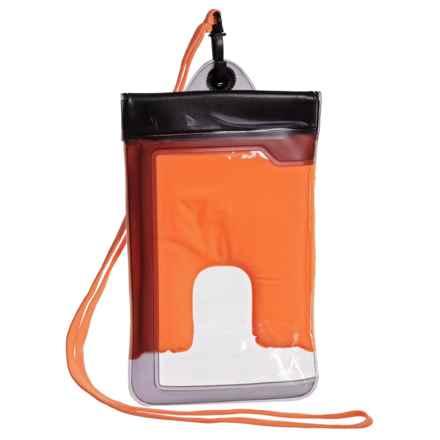 Travelon Smartphone Case - Waterproof in Orange - Closeouts