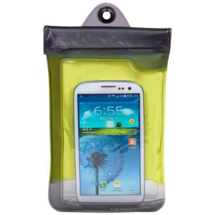 Travelon Smartphone Case - Waterproof in Yellow - Closeouts