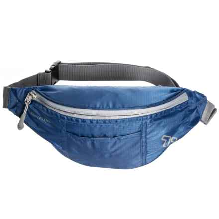 Travelon Top Zip Waist Pack in Royal Blue - Closeouts