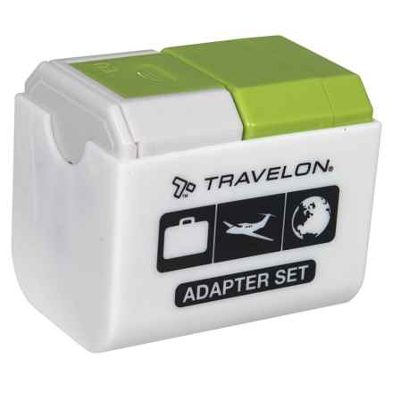 Travelon Universal Adapter Plug in Lime - Closeouts