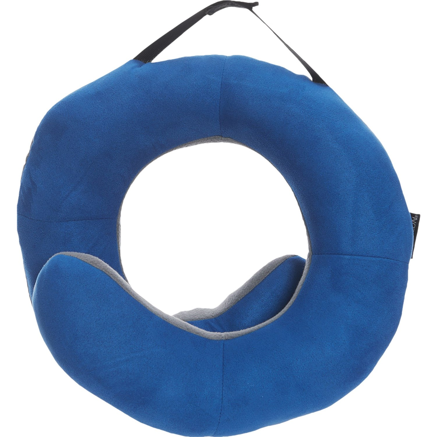 Blue Soft Cotton Travel Pillow Guard