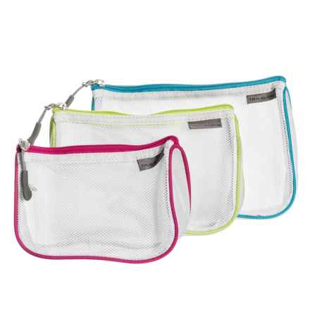 Travelon Zip Mesh Pouches - 3-Pack in See Photo - Closeouts