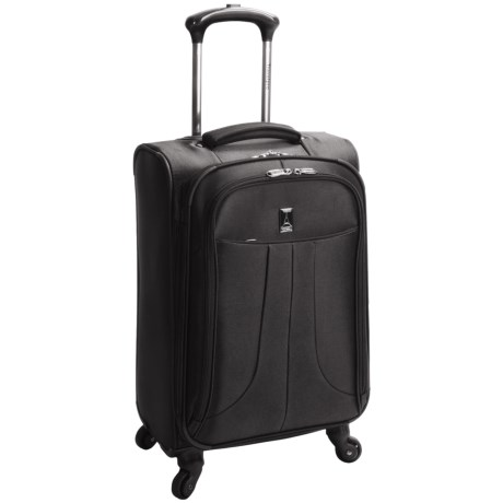 "Travelpro 25"" Anthem Select Expandable Spinner Suitcase - Expandable in Black"