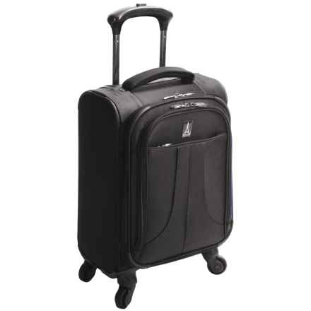 "Travelpro Anthem Select Carry-On Compact Boarding Bag - 17"", Expandable in Black - Closeouts"