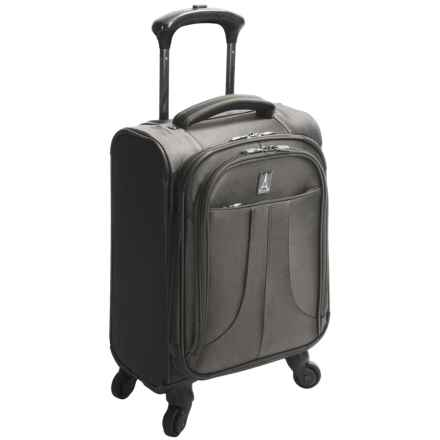 "Travelpro Anthem Select Carry-On Compact Boarding Bag - 17"", Expandable in Gray - Closeouts"